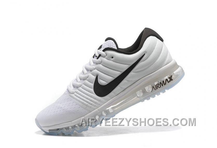 low priced eddda 25b09 Authentic Nike Air Max 2017 White Black Super Deals Zi5rT