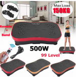 Want to try something different? check out this fitness vibration machine with Bands!  #bands #vibra...