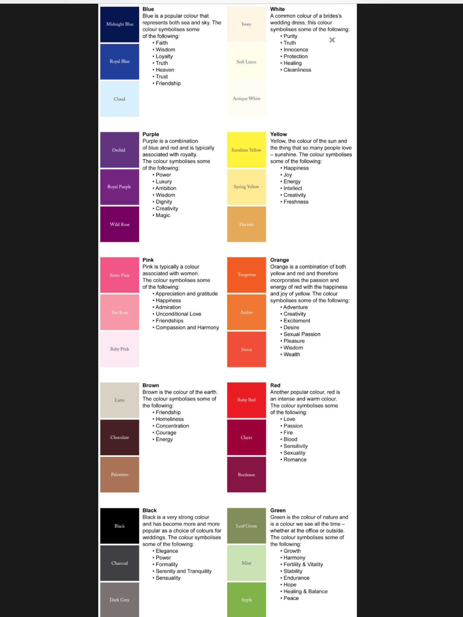 Wiccan Aura Color Meanings - Year of Clean Water