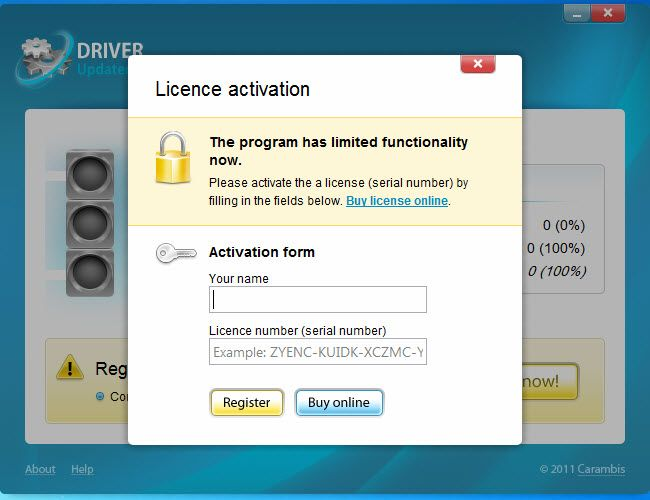 carambis cleaner activation key free