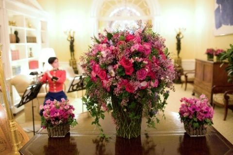 A day in the life of a white house florist floral design white house florist mightylinksfo