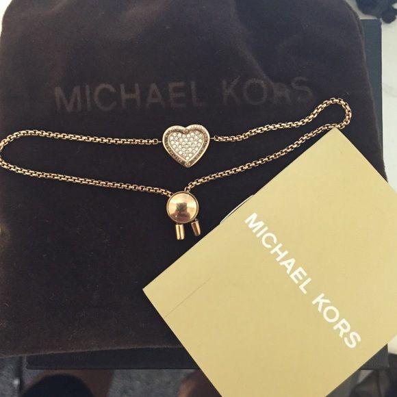 Michael Kors bracelet Beautiful rose gold Michael Kors bracelet! Michael Kors Jewelry Bracelets