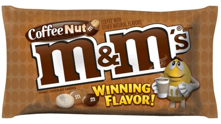 like it or not coffee nut mms  chocolate candy flavors