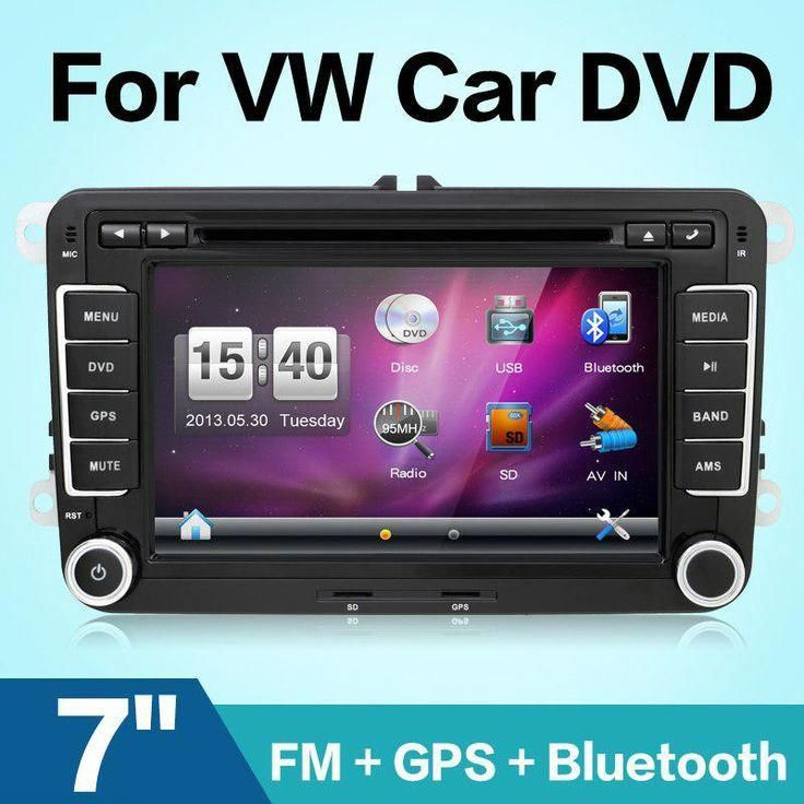 "New 7"" 2din Car DVD GPS player for VW GOLF 4 GOLF 5 6 POLO"