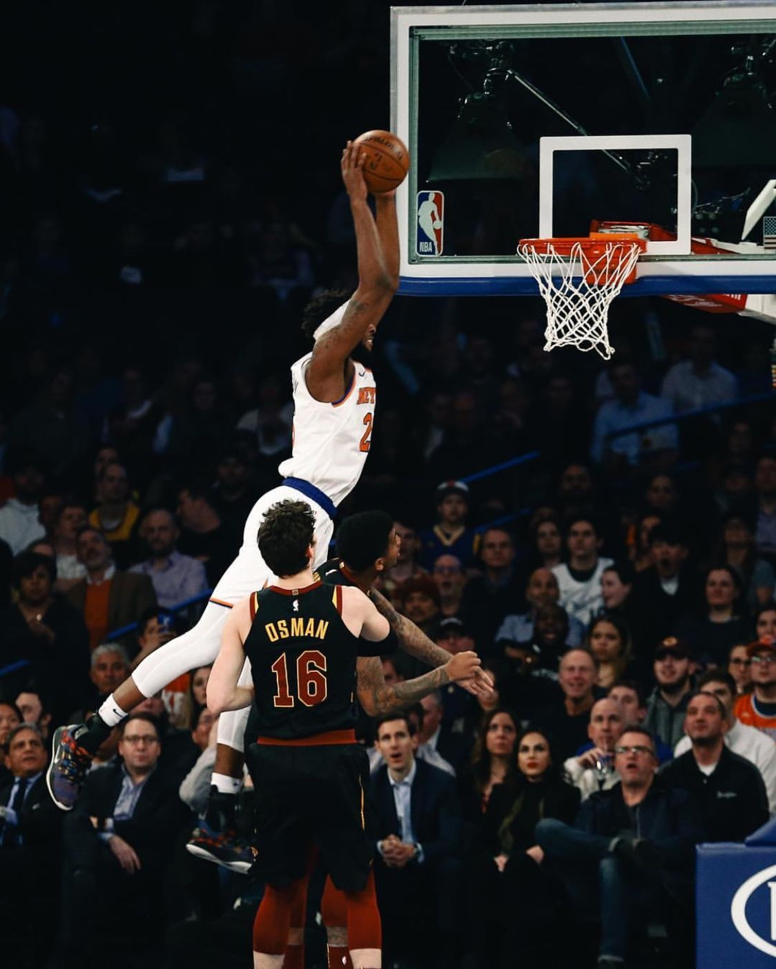 The Knicks Rookie Will Be A Problem If He Keeps Progressing Mitchell Robinson New York Knicks Knicks Nba Players