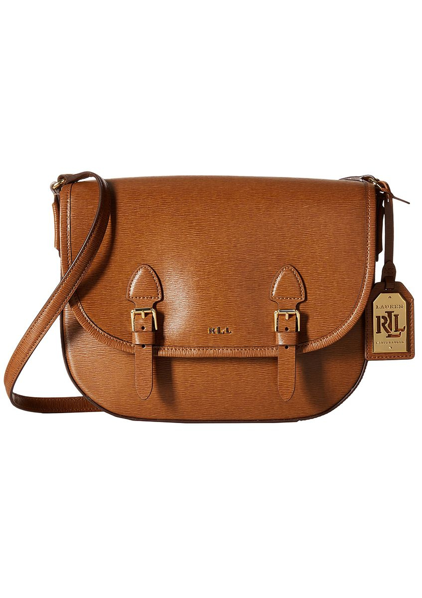 405ff5de4541 Enjoy this classic compact LAUREN by Ralph Lauren Tate Messenger bag ...