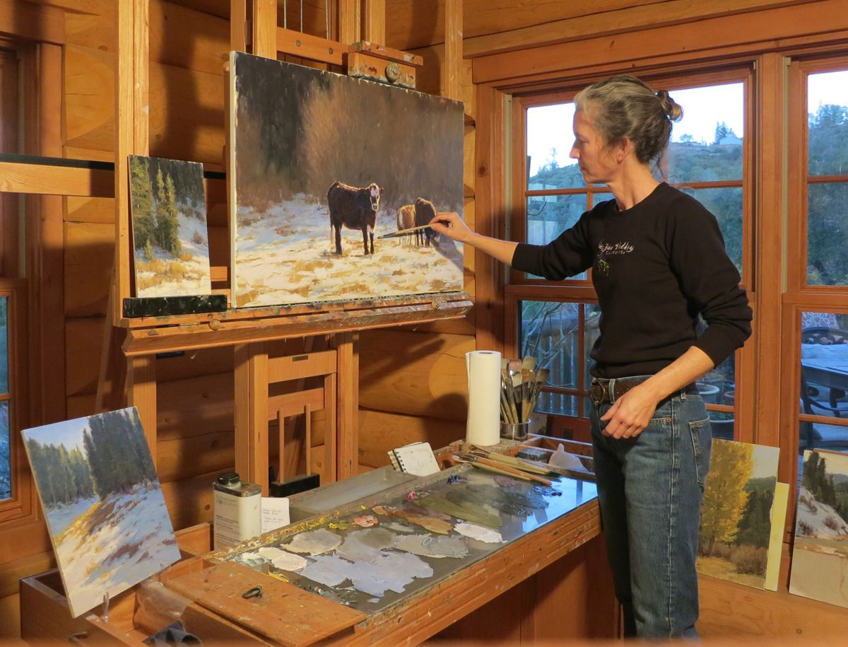 Step Inside Effectively Using Plein Air Studies for