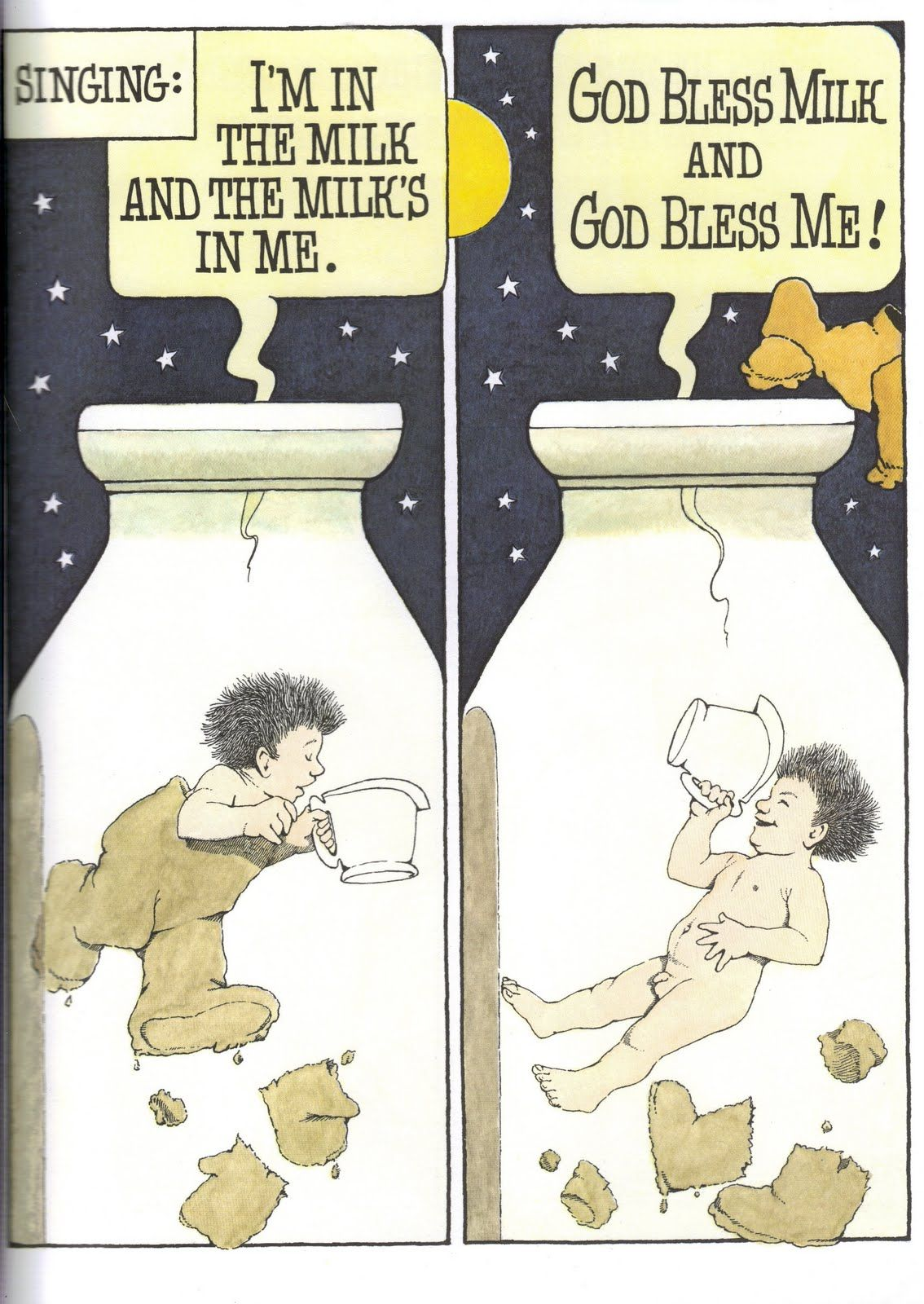 from In The Night Kitchen.. one of Sendak\'s most controversial ...