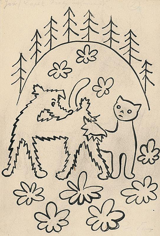 Josef Čapek - 26. Povídání o pejskovi a kočičce