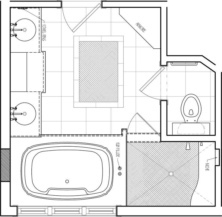 Charmant Image Result For Master Bathroom Floor Plans | House Plans | Pinterest | Bathroom  Floor Plans, Master Bathrooms And Tub Shower Combo