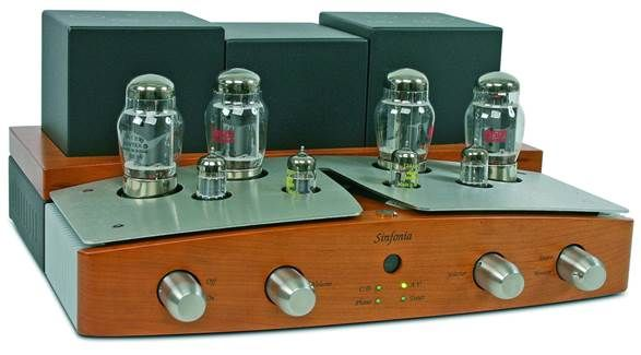 From the outside, the Sinfonia may appear to be a traditional tube amplifier but from a design standpoint, it is a highly advanced instrument