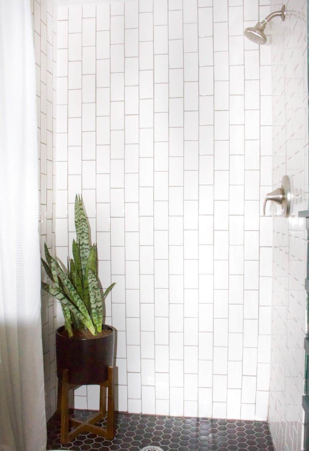 Diy Shower Tiling Made Easy Honey Built Home In 2020 Diy Tile Shower Shower Tile Diy Shower
