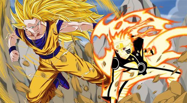 Naruto Naruto Vs Anime Goku