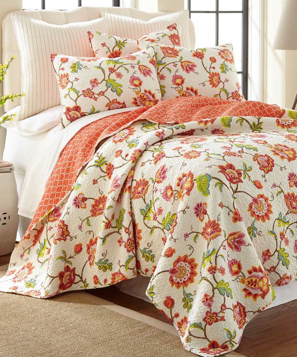 Love This Cream Brittany Reversible Quilt Set By Levtex