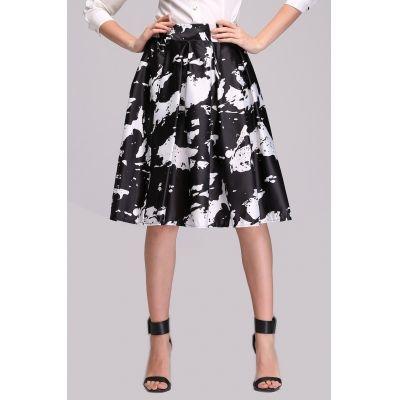 Elegant Ladies Women Retro Midi Skirt | cndirect.com