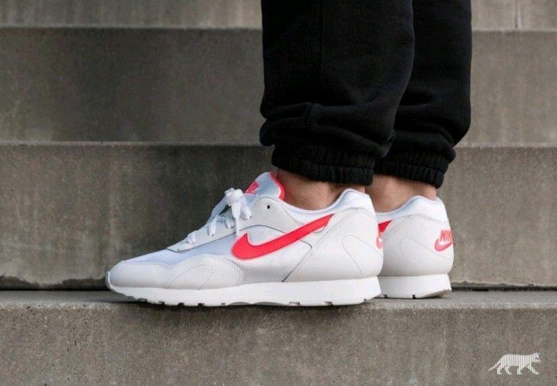 promo code cf2b1 d3c56 Women s Nike Outburst OG Sportswear Running Shoes AR4669 101 White Solar  Red NIB  fashion  clothing  shoes  accessories  womensshoes  athleticshoes  (ebay ...