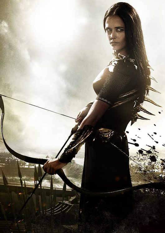 Eva Green As Artemisia 300 Rise Of An Empire Inspiracao Para