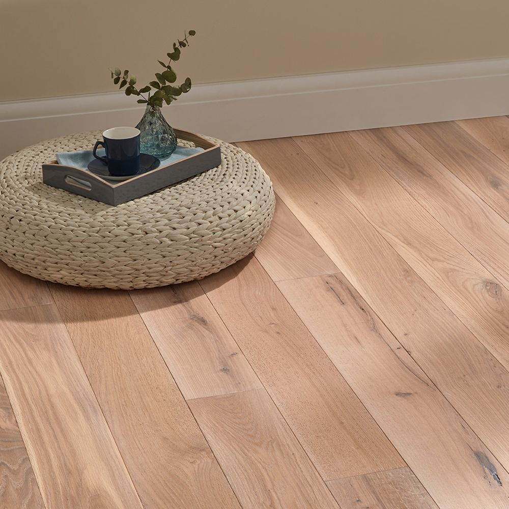Deluxe Frosted Oak Solid Wood Flooring Solid Wood Flooring Direct Wood Flooring Engineered Wood Floors