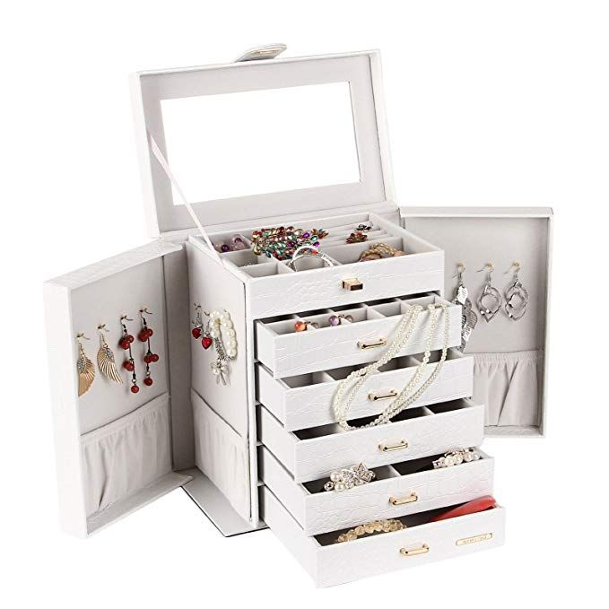25++ Large jewelry box for necklaces viral