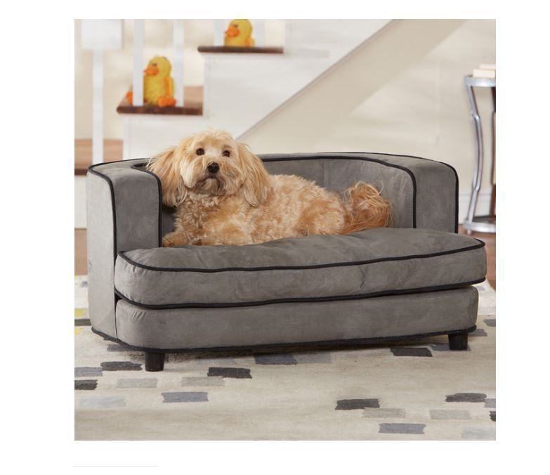 Elevated Dog Bed Raised Couch Medium Dogs Puppy Removable Cover Pet Furniture Enchantedhomepet Cama Para Mascotas Mascotas Camas
