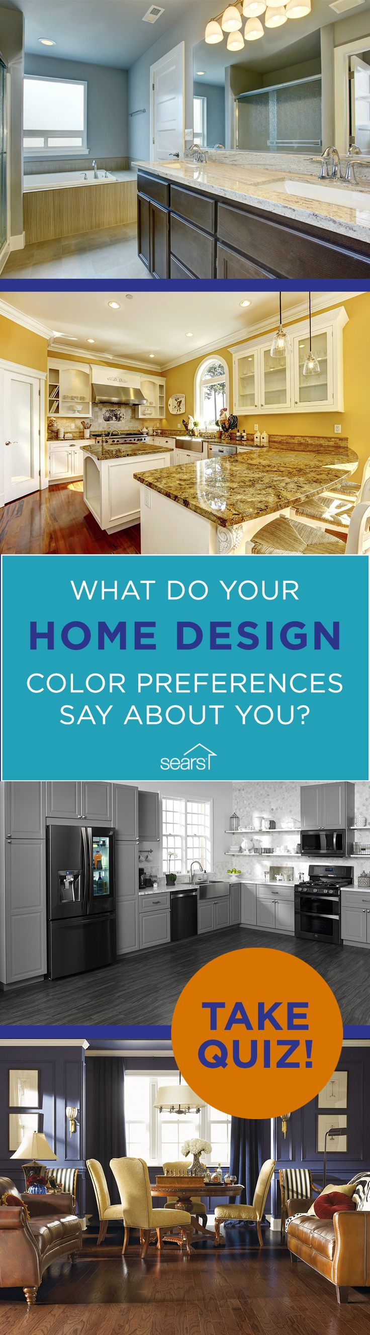 Whether your home is drenched in bright colors or is mostly subtle ...