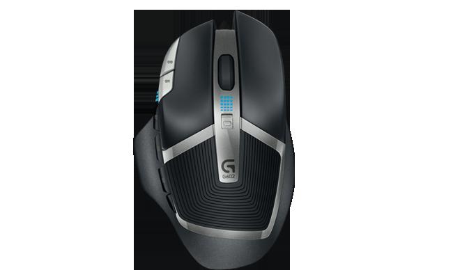 Die G602 Wireless Gaming Mouse ist mit einer Batterielebensdauer von 250Stunden und einer verzögerungsfreien Performance die Neudefinition des kabellosen Spielens. Erfahre mehr über Logitech Gaming.