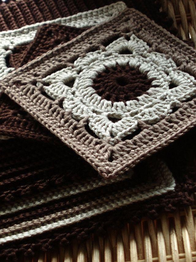 MyWay: Kávová, čokoládková ... #crochetmotif