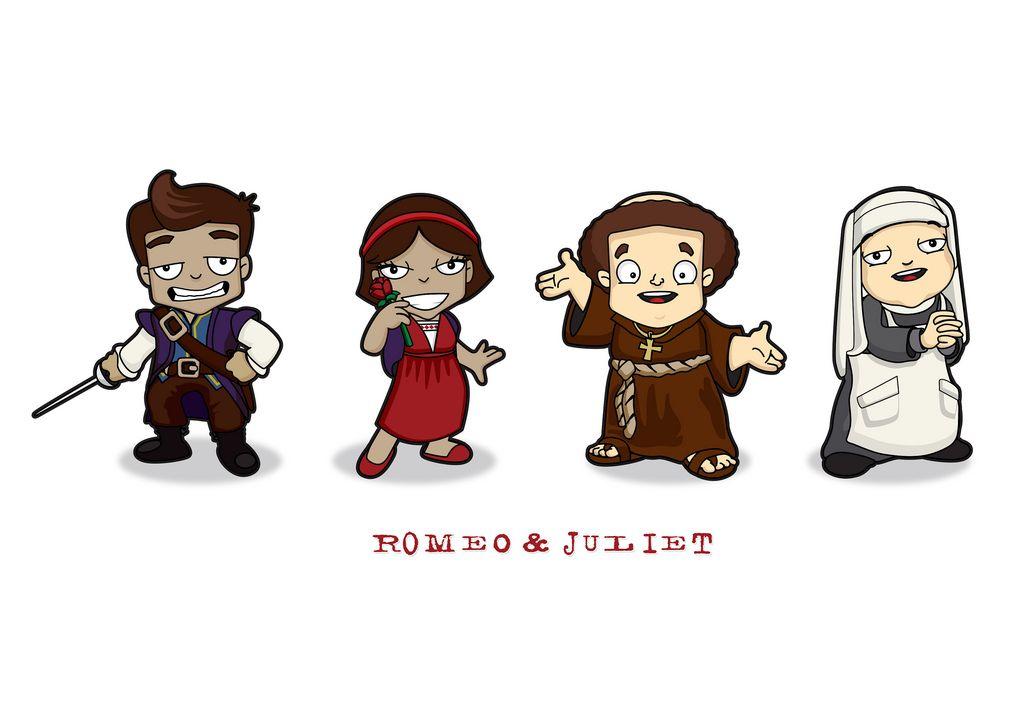 Romeo & Juliet character set 1 | Flickr - Photo Sharing!