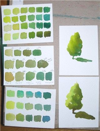 Color Exercises Color Exercise #3: Color Value and Temperature In this exercise I experimented with mixing pigments to create value scales that progress from light to dark as well as cool to warm a…