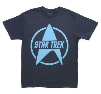 Star Trek Logo on Blue T-Shirt