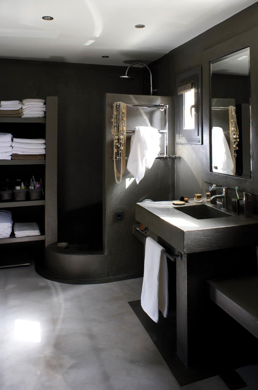 Maison de r ve vue sur la m diterran e salles de bains bathroom dream bathrooms ve home spa - Maison de la mediterranee ...