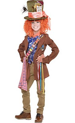 boys mad hatter costume alice through the looking glass - Mad Hatter Halloween Costume For Kids