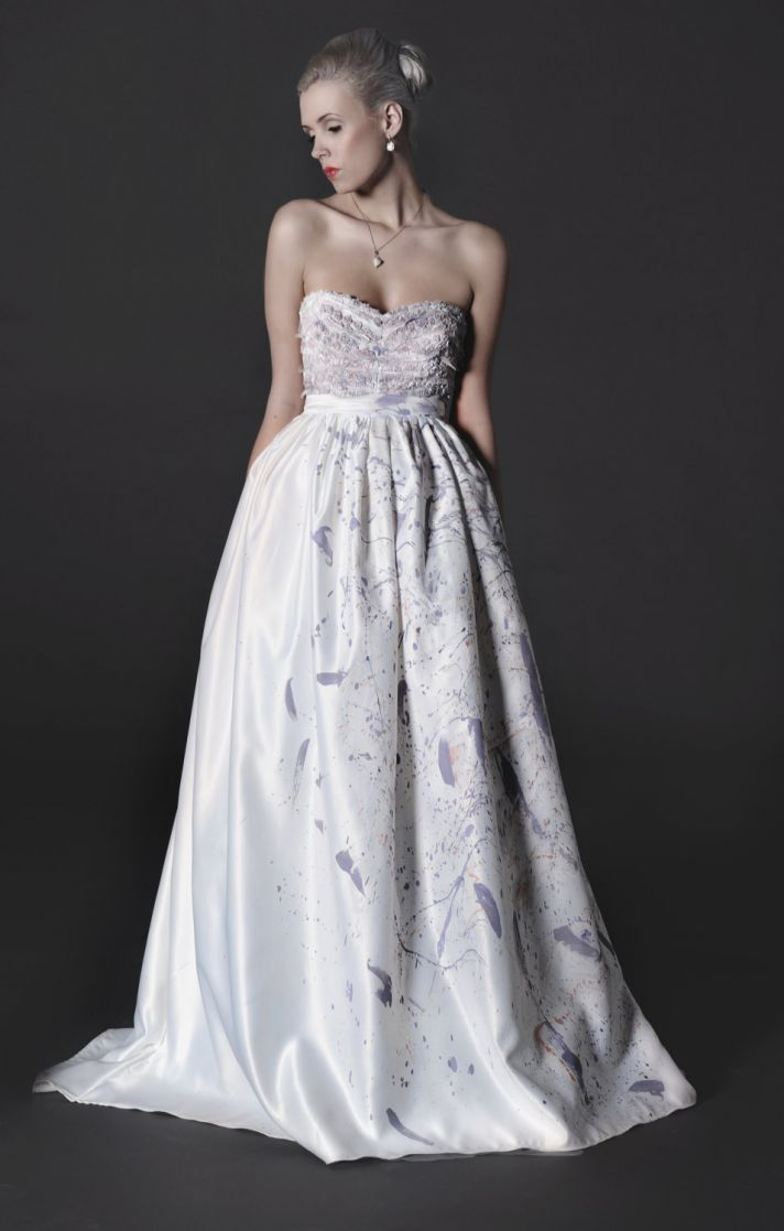 Exquisite Etsy Wedding Dresses Bridal Gowns Wedding Dresses Strapless Wedding Dresses [ 1117 x 712 Pixel ]