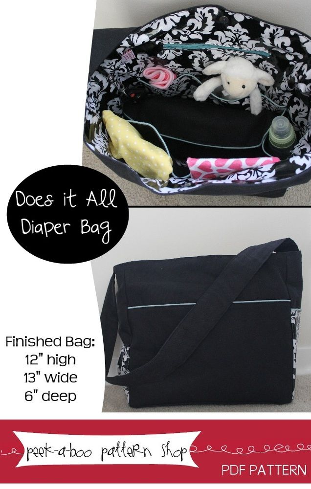 Image of Does it All Diaper Bag