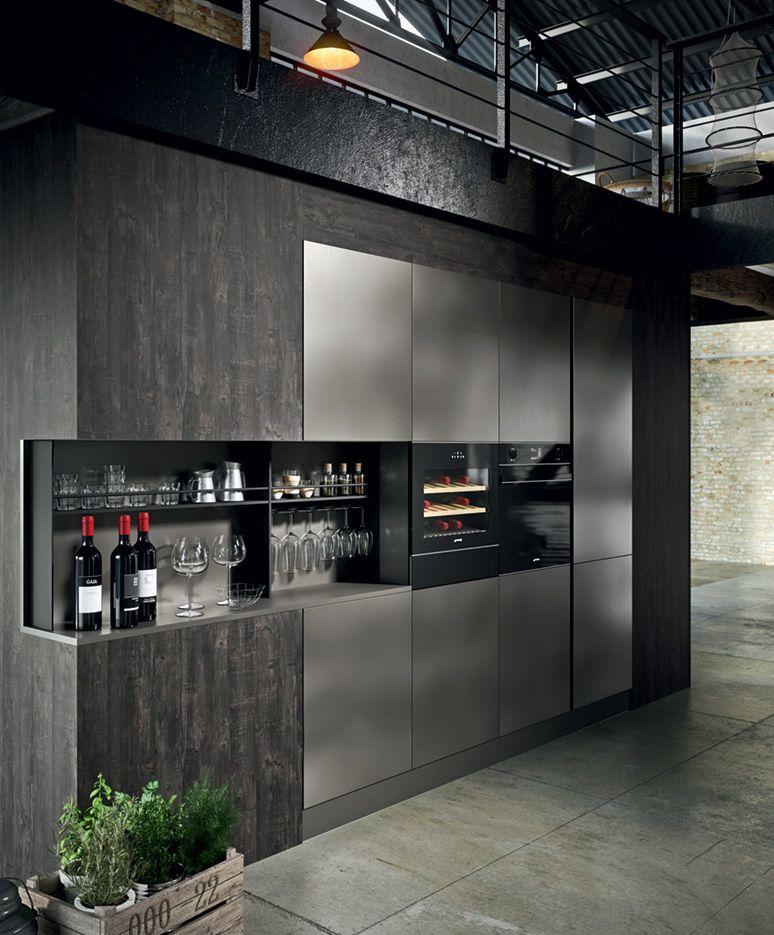 Collezione industrial kitchen industrial kitchen for Appartamento design industriale