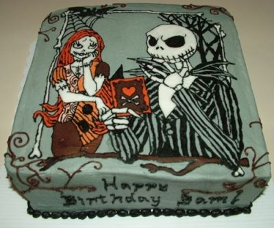 Nightmare Before Christmas By toodlesjupiter on CakeCentral.com