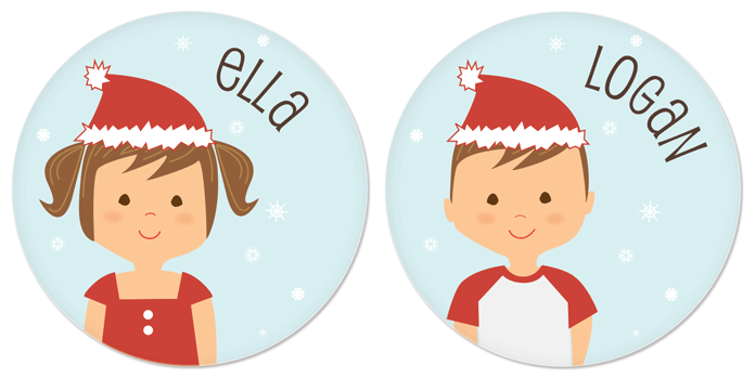 personalized melamine Christmas plates for kids  sc 1 st  Pinterest : melamine personalized plates - pezcame.com