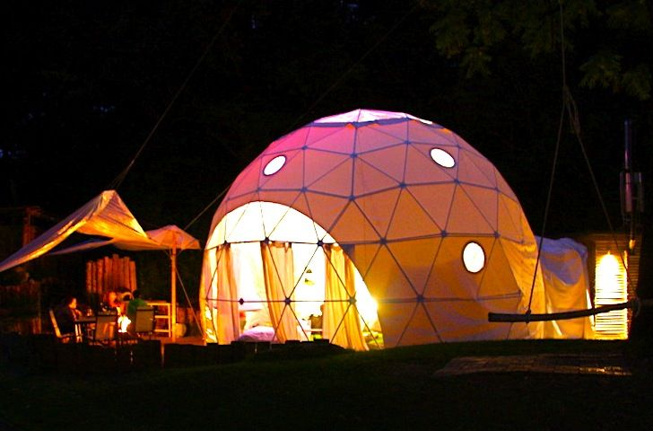 Unique Dome Garden Offers an Unforgettable Eco  Gl&ing  Adventure Just 2 Hours from London & Dome Garden Offers an Unforgettable Eco