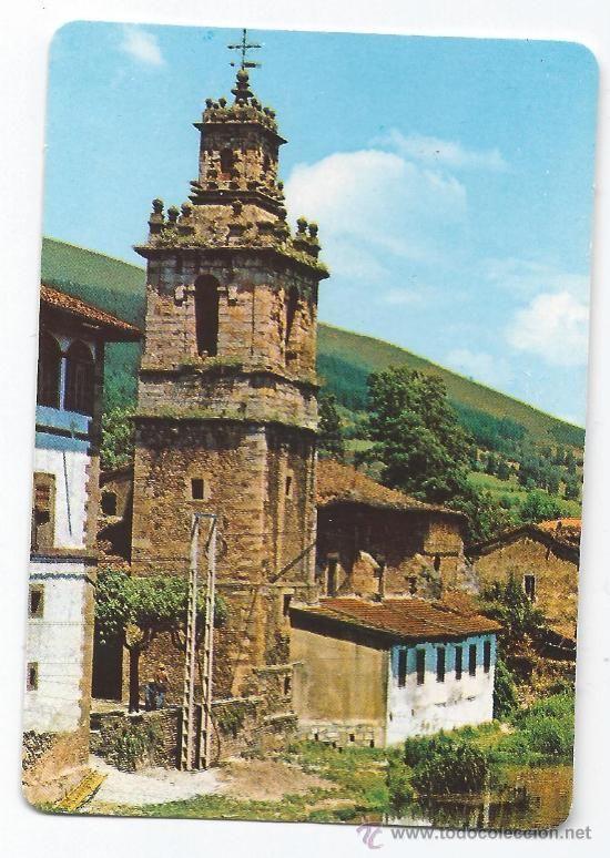 IGLESIA SAN JUAN EN BALMASEDA CALENDARIO 1991 País vasco