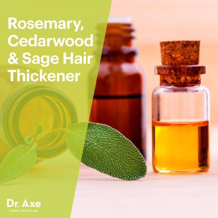 Rosemary Cedarwood Amp Sage Hair Thickener Recipe Hair