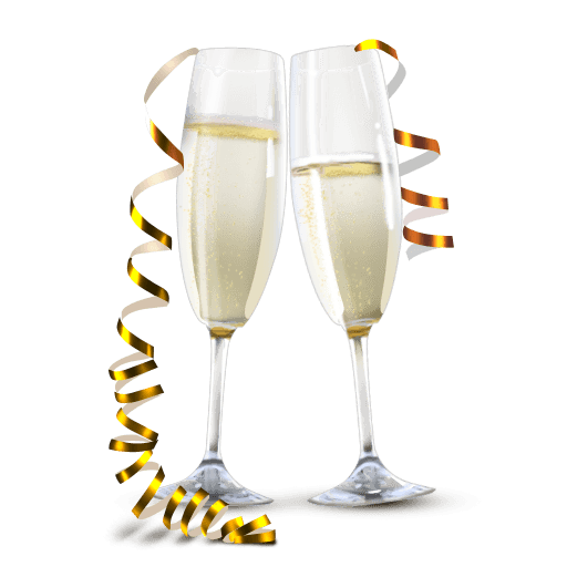 Champaign Clipart Transparent Background 27 Champagne Champagne Bottles Newyear