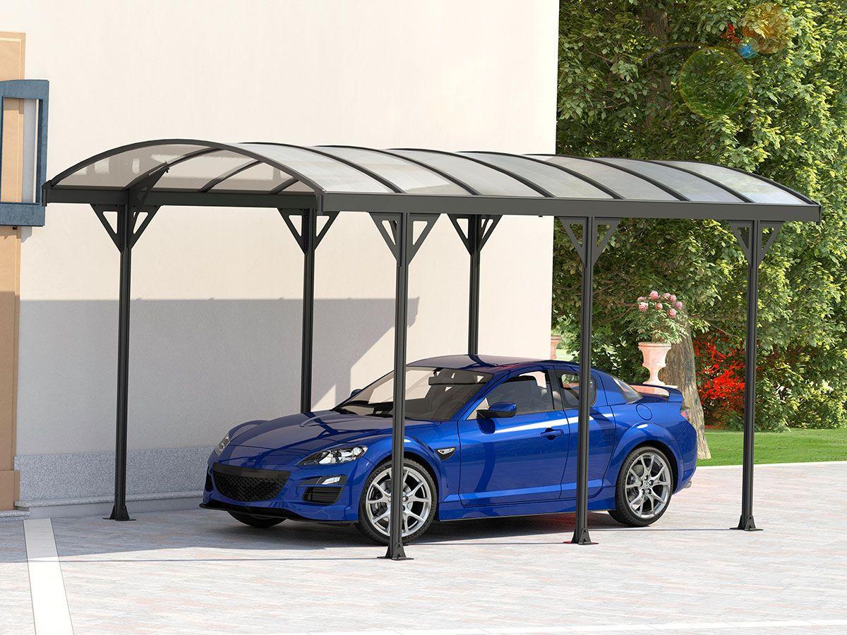 Carport voiture Protector 15m² 5.05 x 3 x 2,3 m pas cher