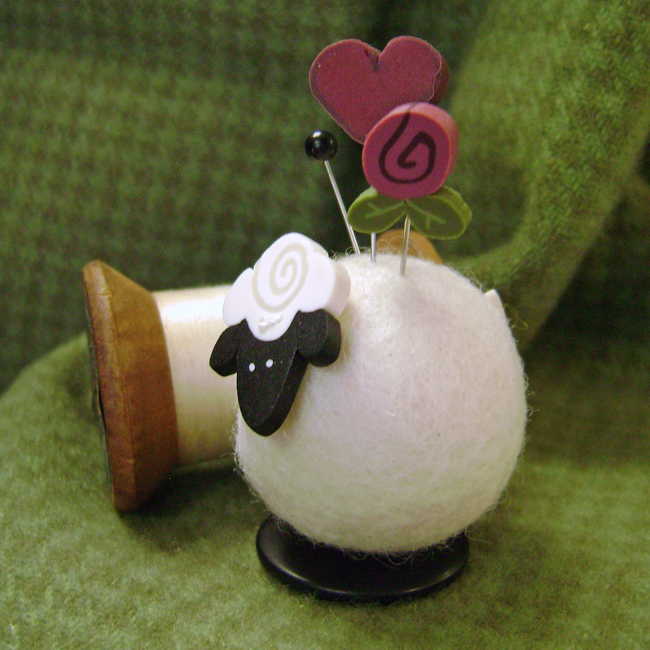 Button Buddy pincushion