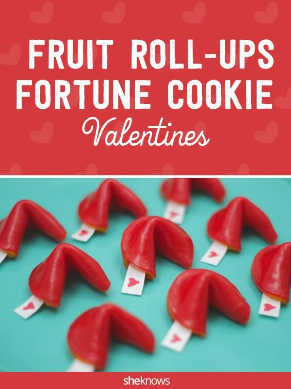 How to make super-cute Fruit Roll-Ups fortune cookie ...