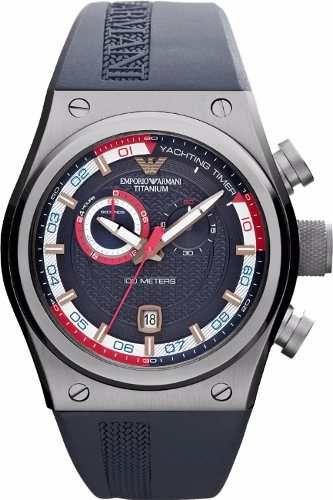75cbf148d58e Emporio Armani sportivo cronógrafo titanio ar6107 Relojes