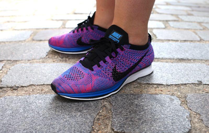 the best attitude 3e025 d6337 Nike flyknit racer purple uglymely 1