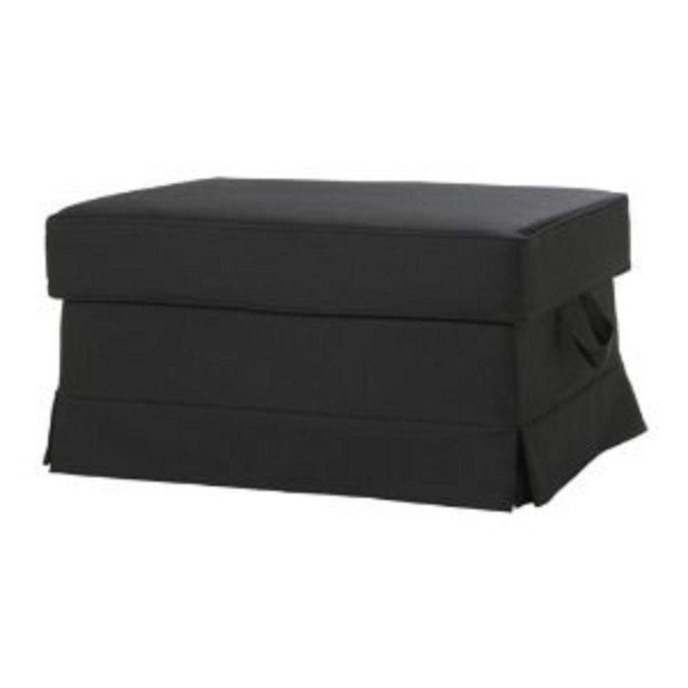 New Ikea Ektorp Footstool Cove Bromma Ottoman Slipcover Idemo