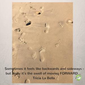 Sometimes it feels like backward, side