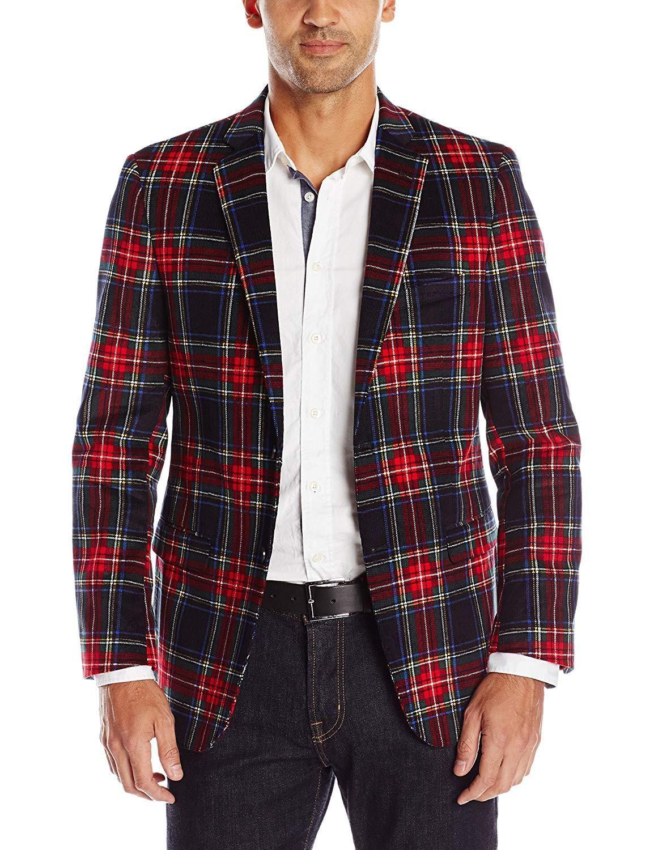 U.S. Polo Assn. Men s Plaid Sport Coat in 2019  b70401d24b3
