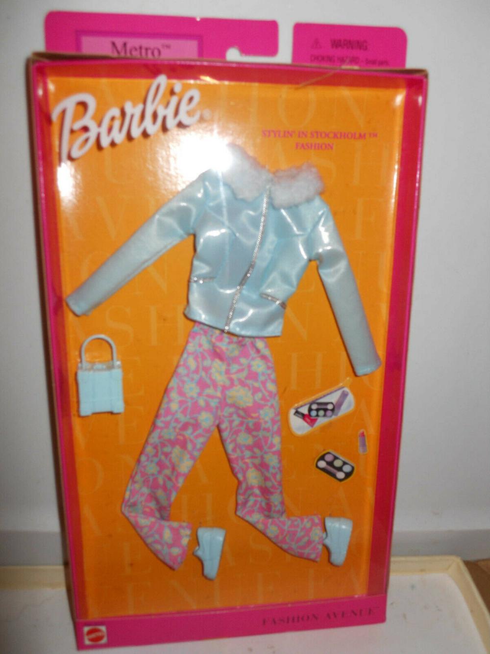 *P330 NIB BARBIE DOLL 1985 VINTAGE FASHION FUN 2090 PINK RARE!